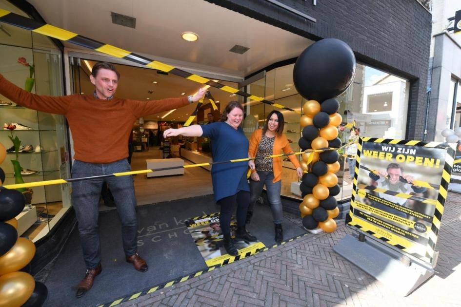 Feestelijke opening Van Keeken Schoenen! Alphens.nl