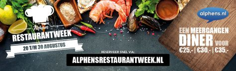Alphens Restaurantweek Augustus 2020 Nieuws