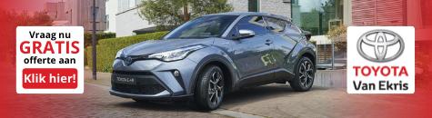 Toyota Ekris nieuwe chr juni 2021